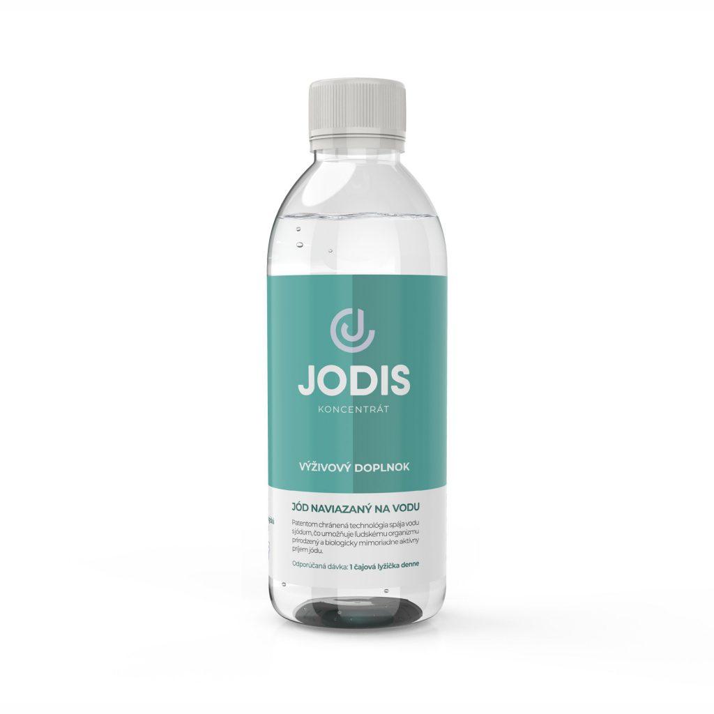 Patentom chránená technológia výživového doplnku Jodis koncentrát