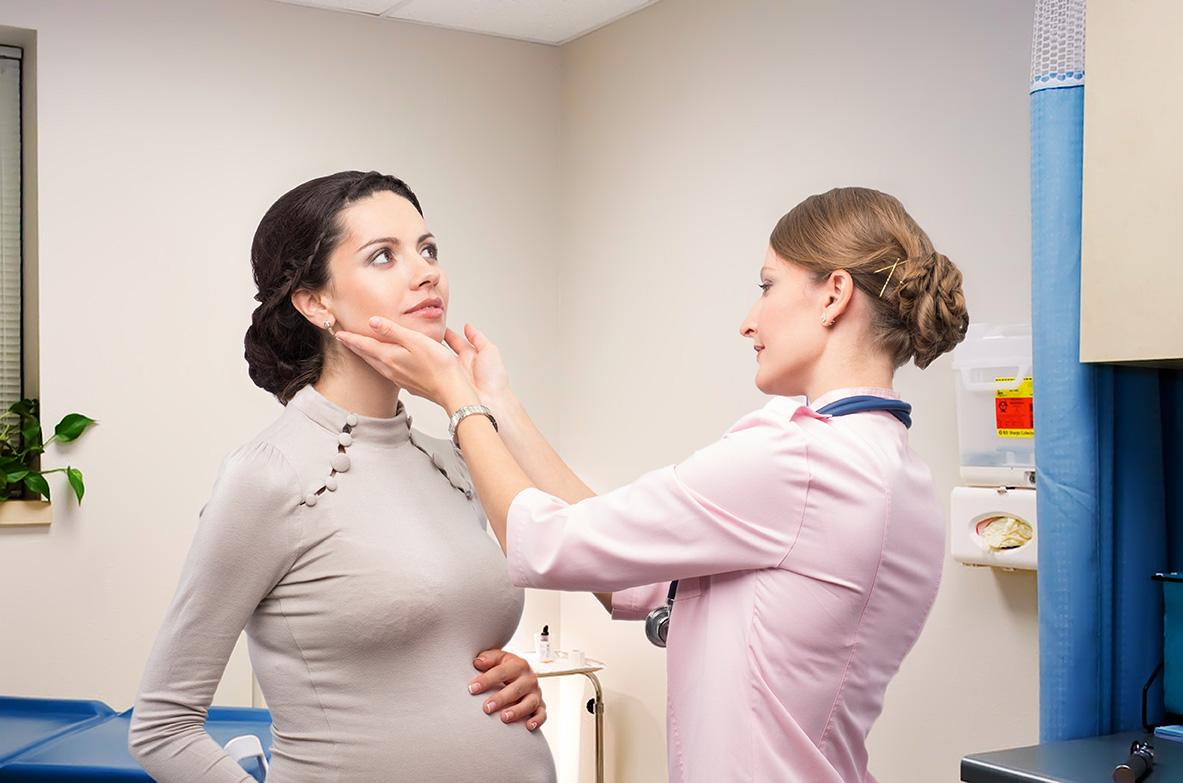 Jód a štítna žľaza v tehotenstve